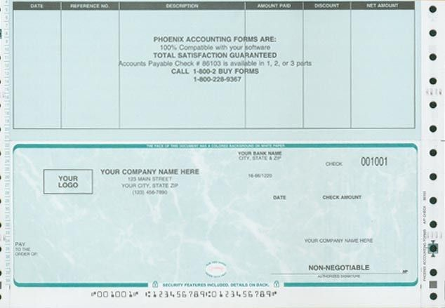 Phoenix Accounting Corporation - Checks and Forms