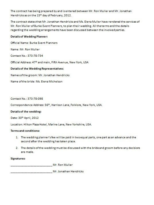 Supply Contract Template. Basic Supply Contract Template Jpg 10+ ...