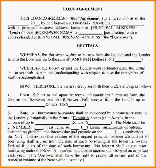 Legal Contract Template.legal Contract Template For Borrowing ...