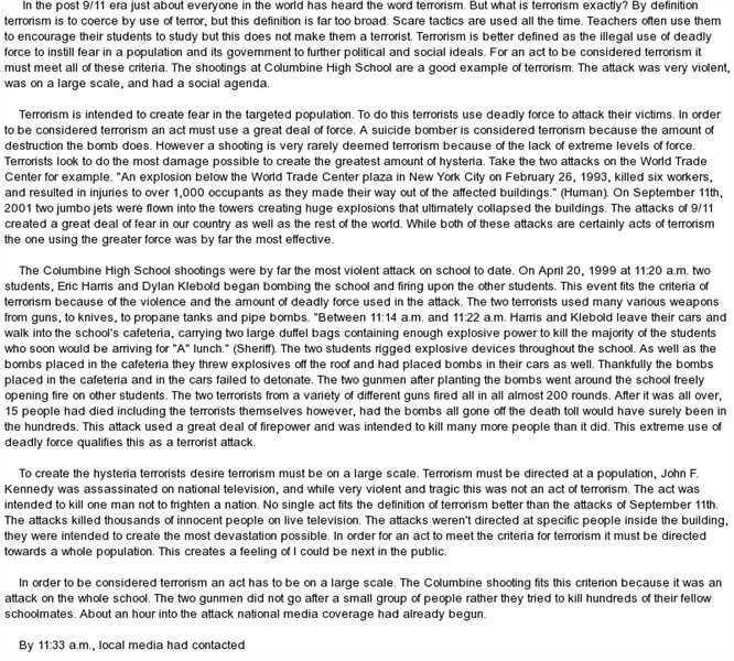 word essay on bullying
