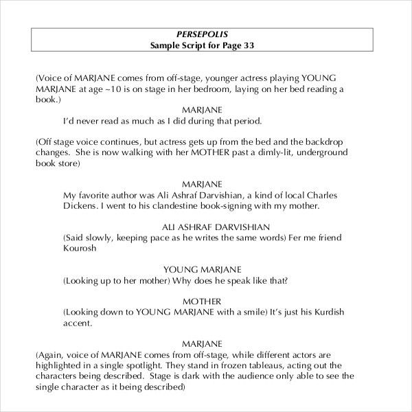11+ Script Writing Templates – Free Sample, Example Format ...