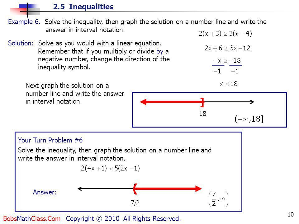 1. a < b means a is less than b - ppt video online download