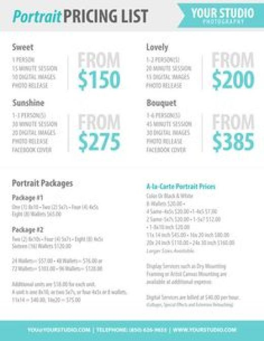 21+ Free Price List Template - Word Excel Formats