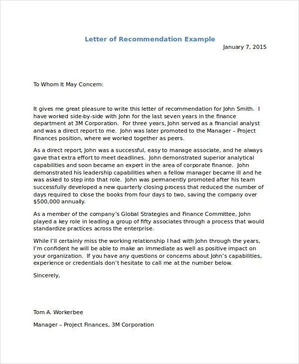 Employee Reference Letter For Immigration - Mediafoxstudio.com
