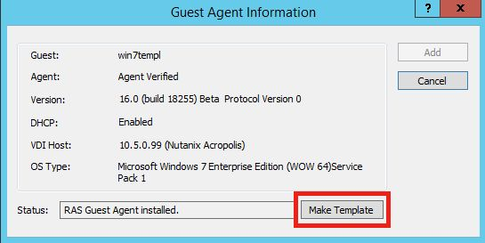 KB Parallels: Deploying Remote Application Server Templates