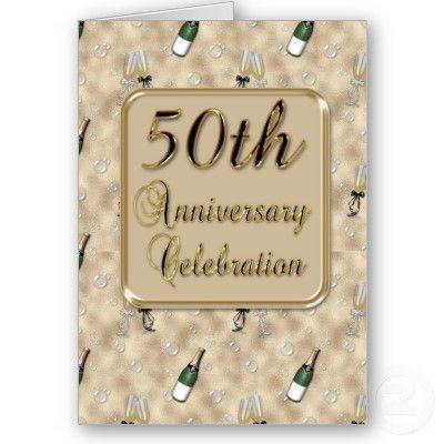 Free Printable 50th Wedding Anniversary Invitations - The Wedding ...