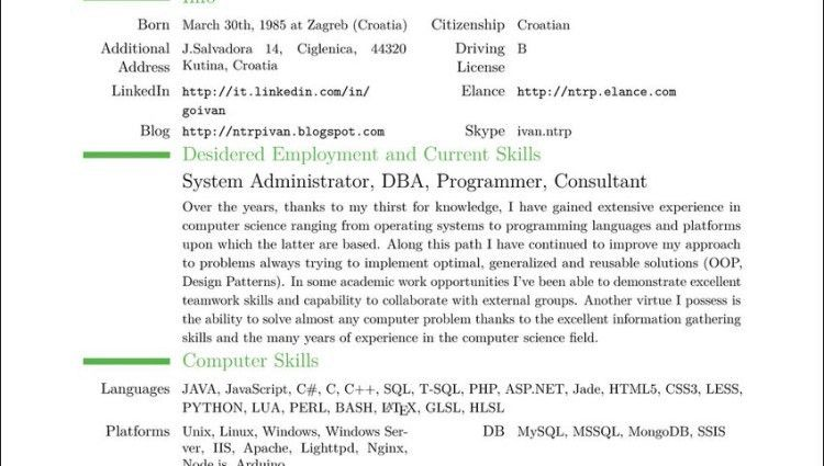 how to write a resume cover letter computer skills on resume ...