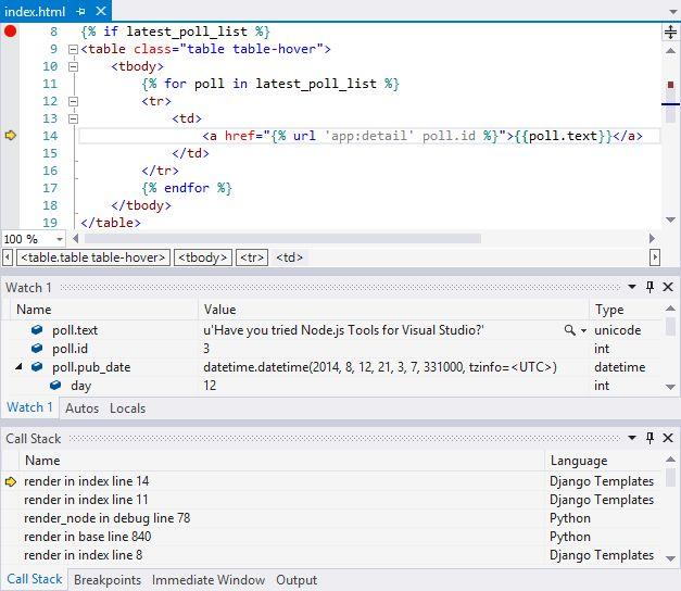 Django Web Project Template for Python in Visual Studio ...