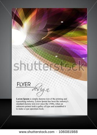 Professional Business Flyer Template Corporate Banner Stock Vector ...