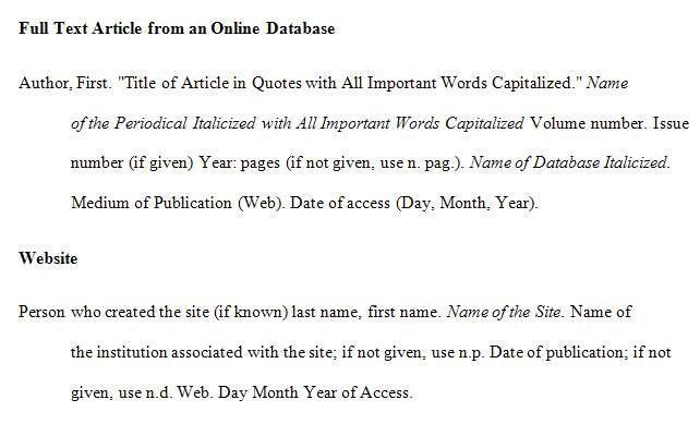 NPHSsagelibrary - Citing Sources in MLA Format
