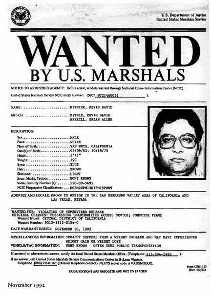 "Kevin Mitnick, Hacker, ""Most Wanted Computer Criminal"" Turned ..."