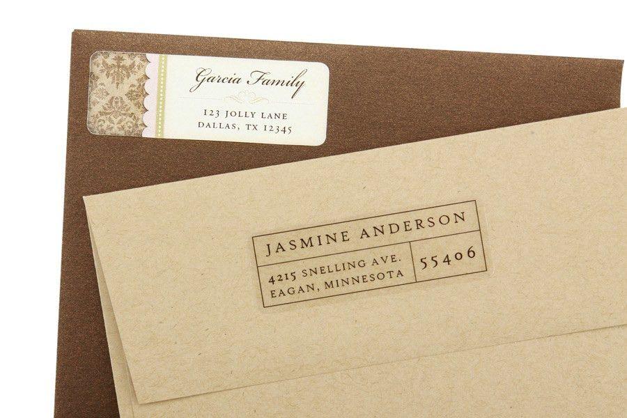 Return Address Labels | Design and Print | Pro4print.com