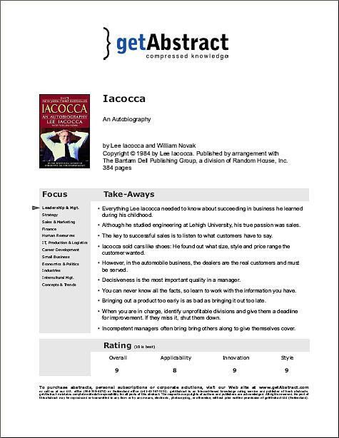 Book Summary Sample: here's a free sample book summary..