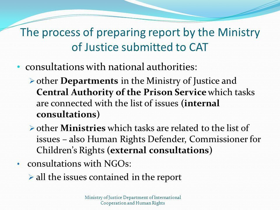 Reporting procedure to the treaty bodies (UN bodies) - ppt download