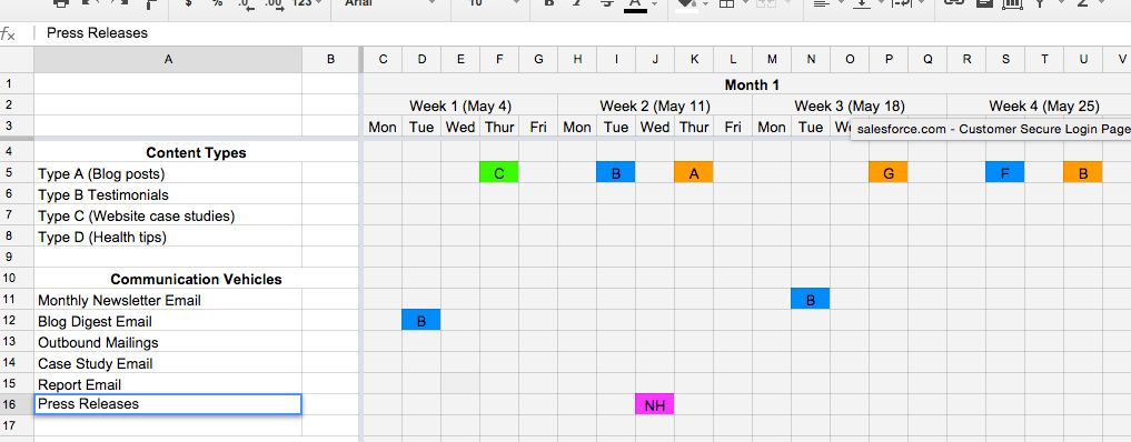 How to Create a Great Health Care Content Calendar