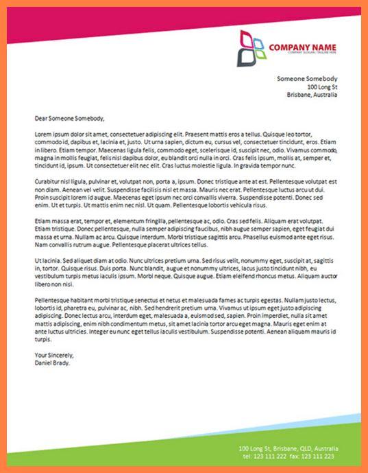 how to make a company letterhead