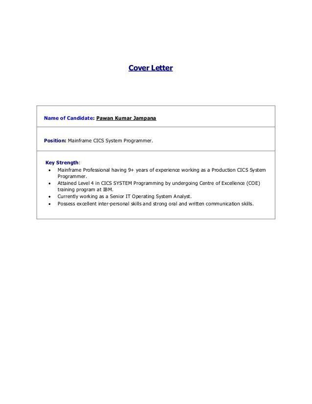 Mainframe Resume Bill Schuck Mainframe Programmer 2013 Resume - systems programmer resume