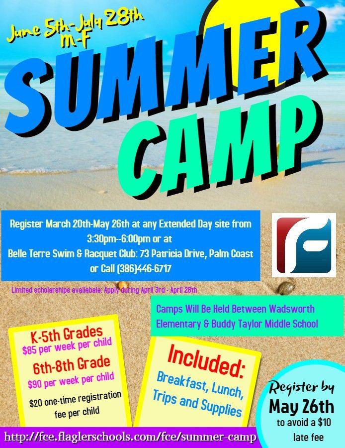 Summer Camp | Flagler Community Education