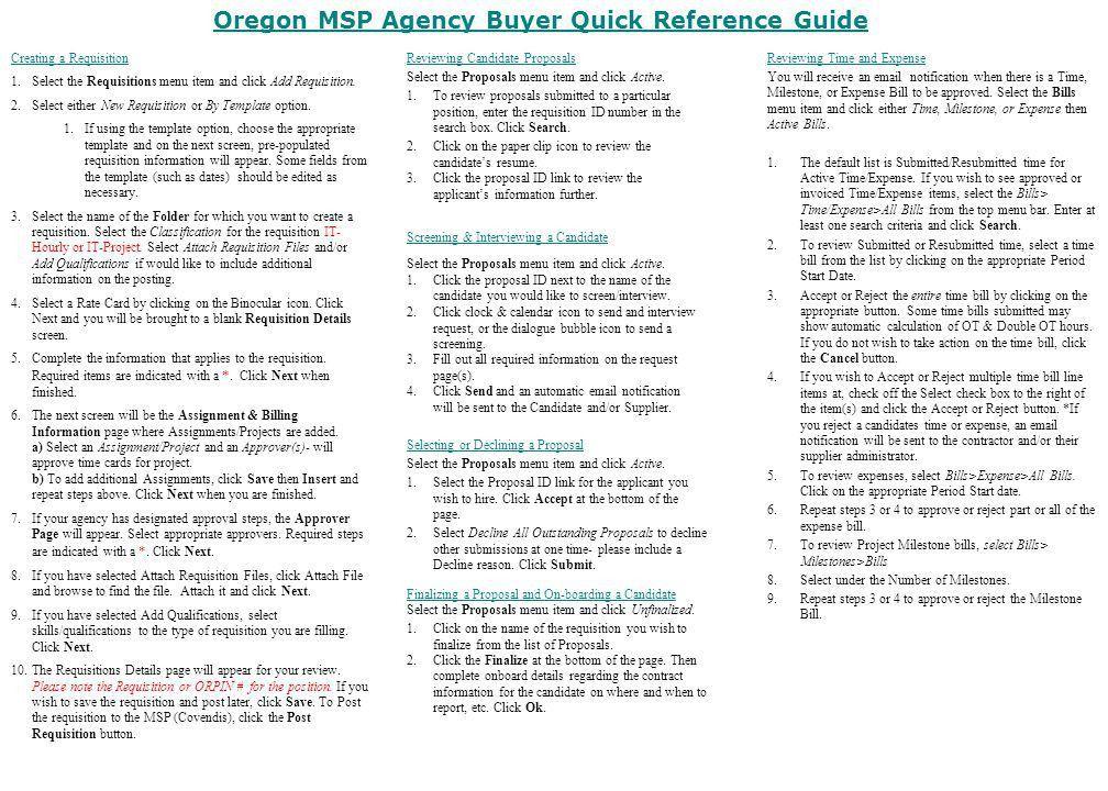 Quick Reference Guide Template - Contegri.com