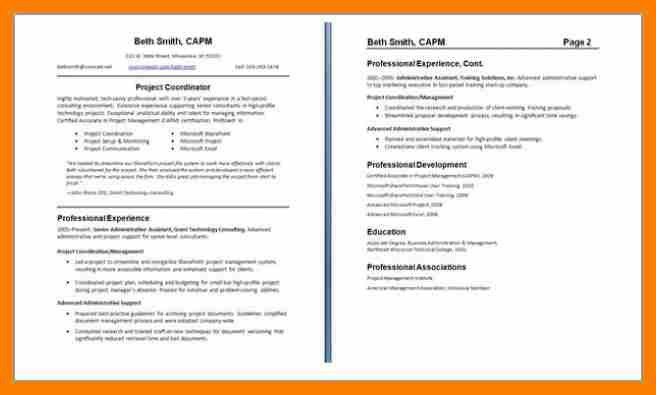 5+ two page resume examples | hostess resume