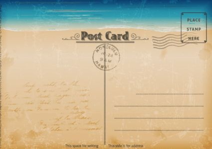 20 Free Printable Postcard Templates - XDesigns