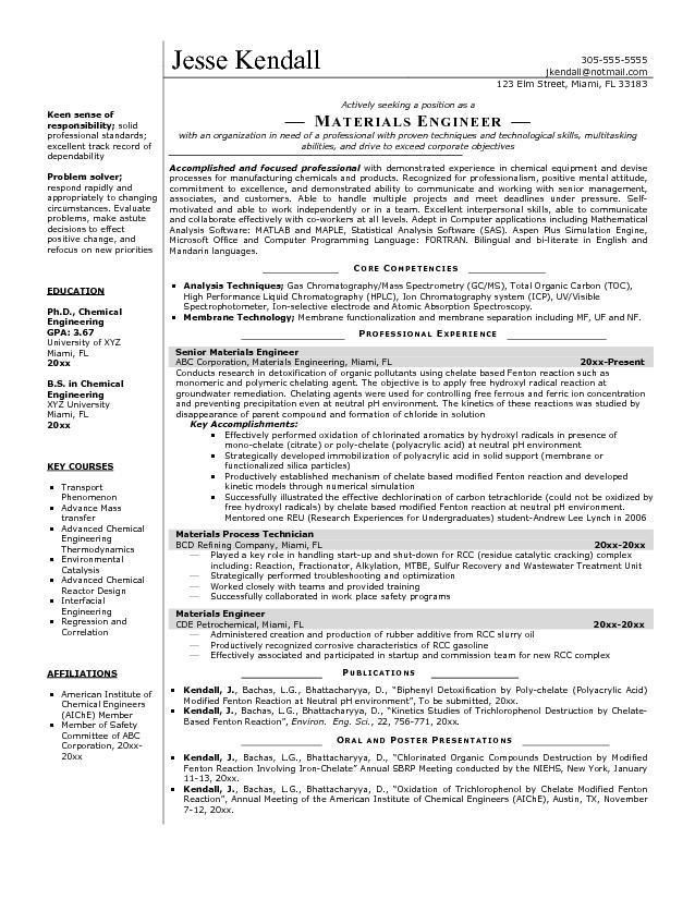 Production Engineer Responsibilities Resume #5741
