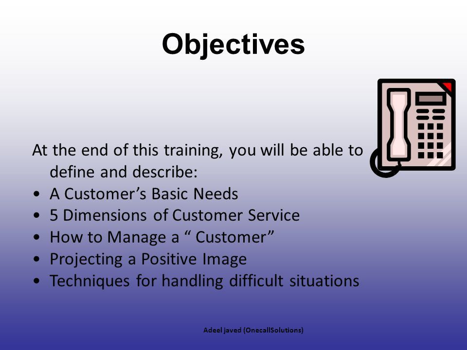 Call Center Etiquette Module - ppt download