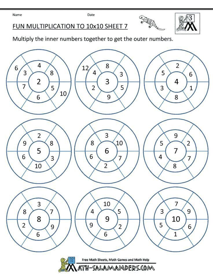 Best 25+ Multiplication sheets ideas on Pinterest | Multiplication ...