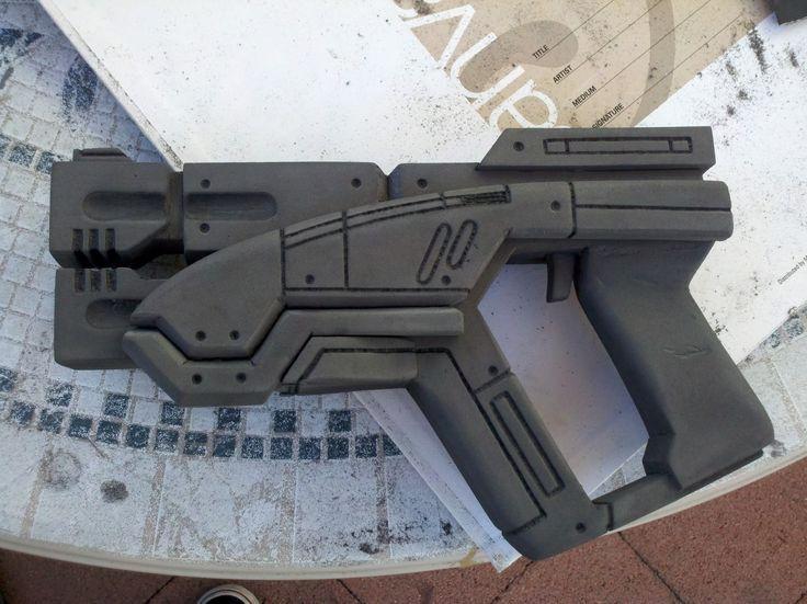 EVA Foam M-3 Predator Pistol (Mass Effect 2) | Projects to Try ...