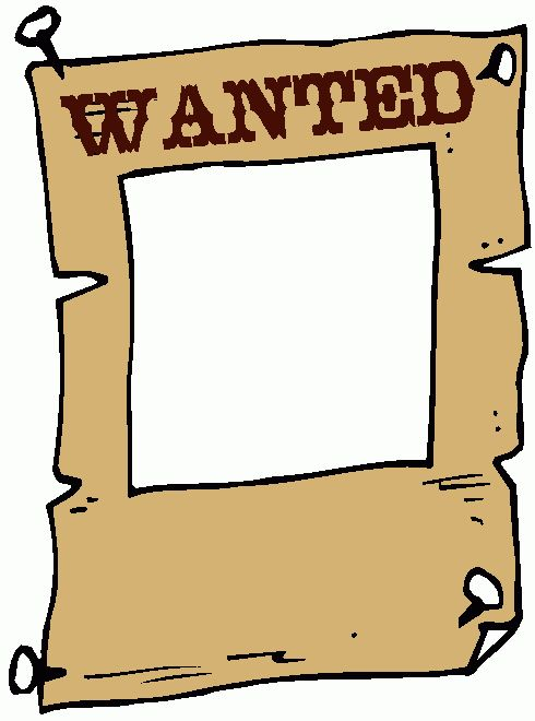 Wanted Sign Clipart - The Cliparts Databases