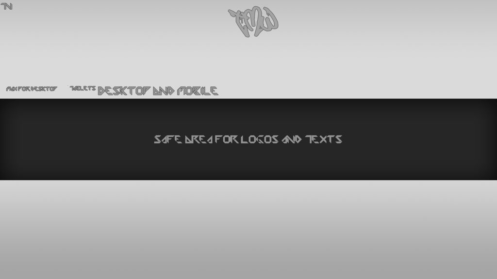 Youtube Banner Template By TMW cpia by The-Magician-Wolf on DeviantArt