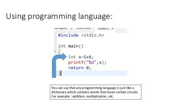 A brief introduction to C Language