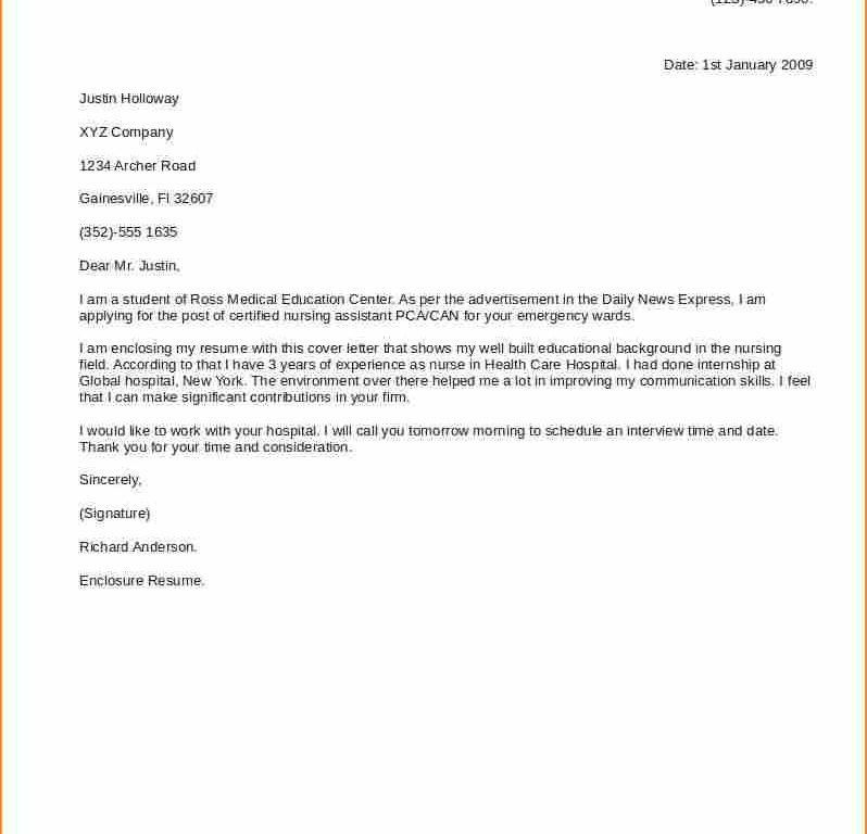Wondrous Good Cover Letter For Resume 10 10 Good Cover Letter ...