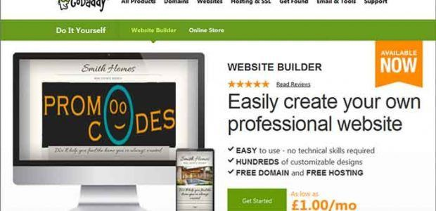 7 Things to Know About Godaddy Website Builder - PromoOcodes