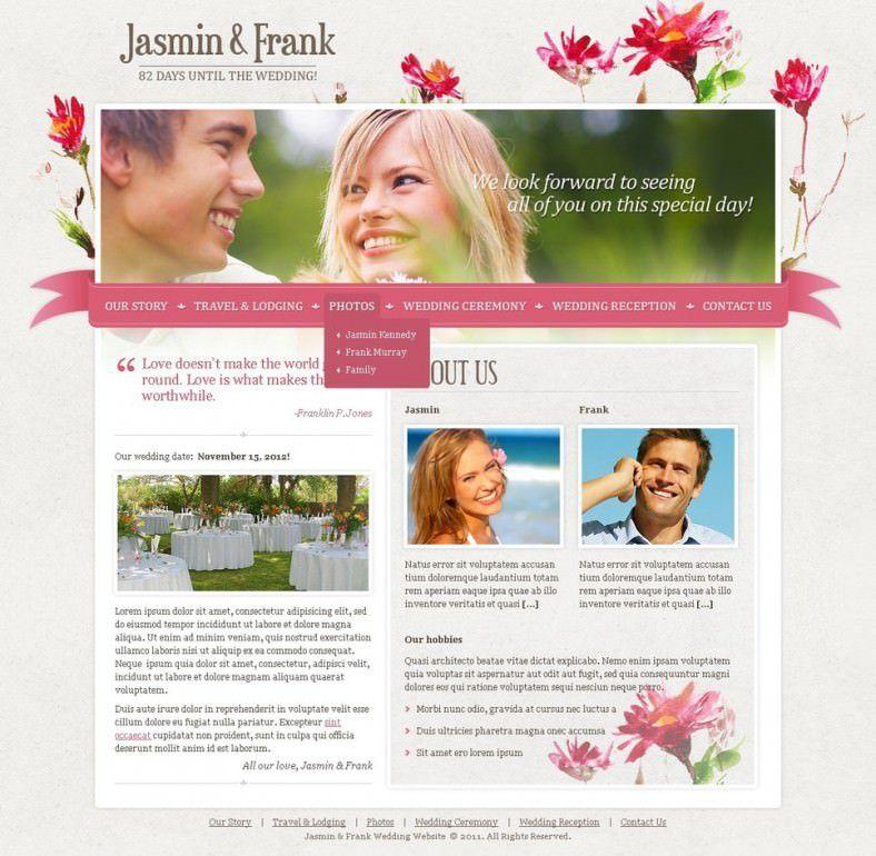 Best Wedding Planner Joomla Templates & Themes | Free & Premium ...