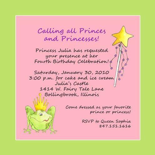 Birthday Party Invitation Wording | orionjurinform.com