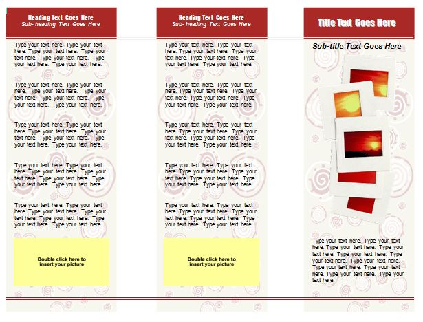 10 Best Images of Tri-Fold Brochure Template Microsoft Word - Free ...