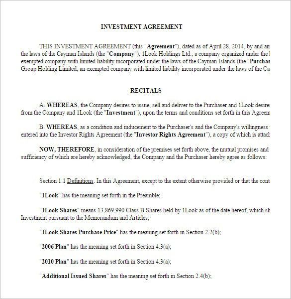 Assignment Agreement Template. Loan Agreement Template Microsoft ...