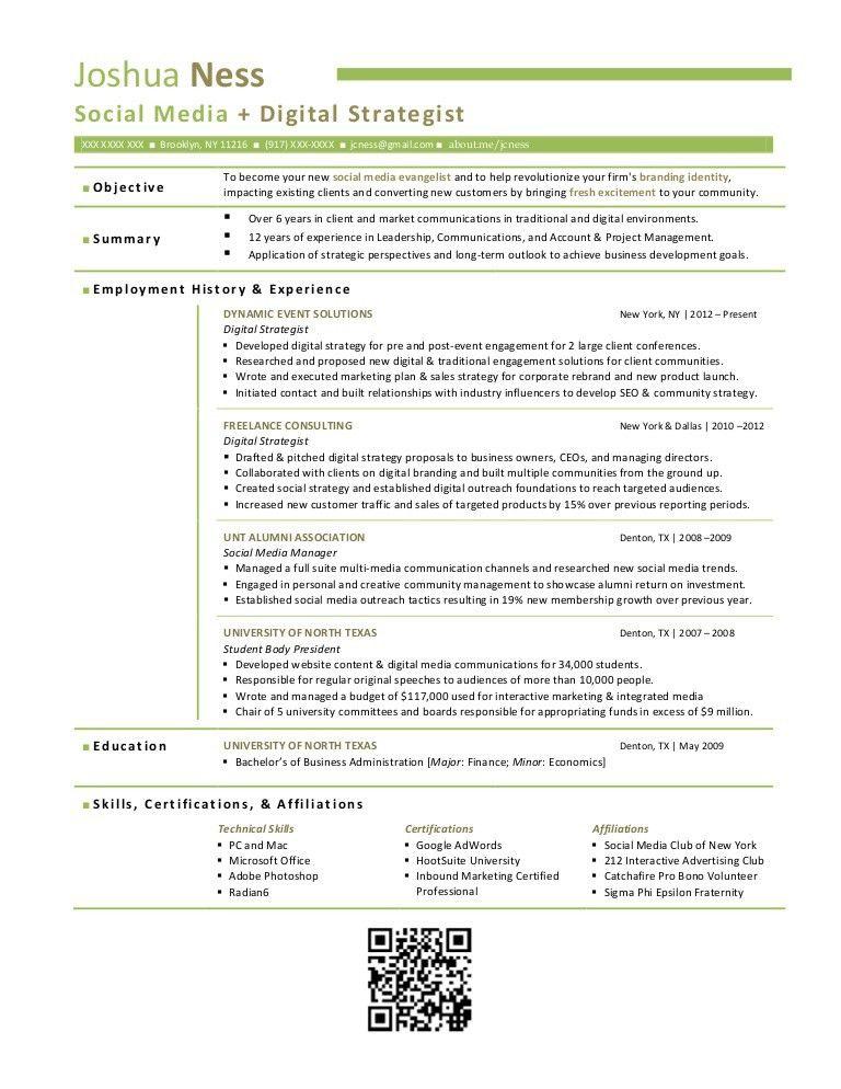 justin fullers resume digital marketing manager. digital media ...
