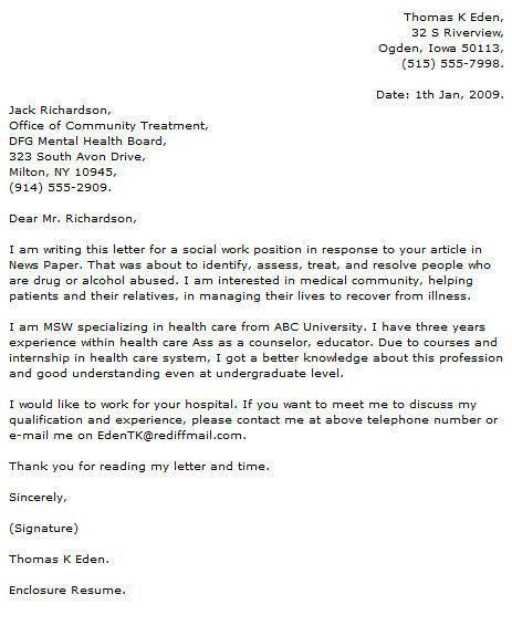 Proper Resume Cover Letter Format. Cover Letter Fresh Graduate ...