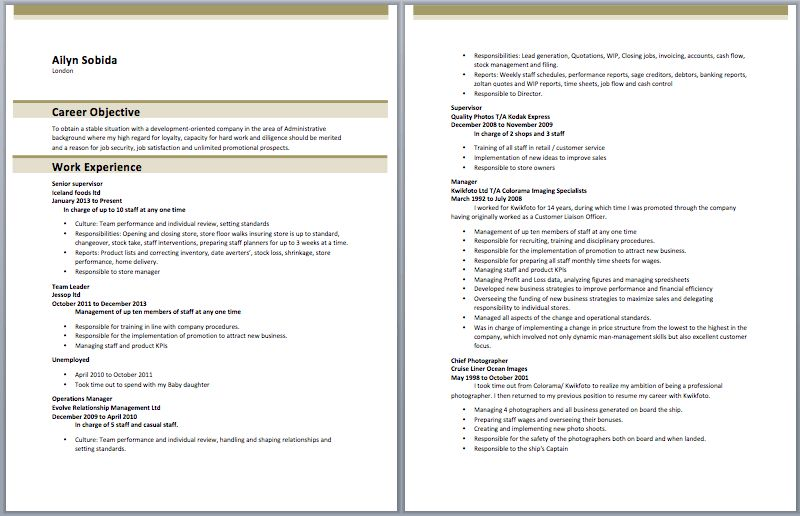 resume format entry level entry level banker resume sample resume ...