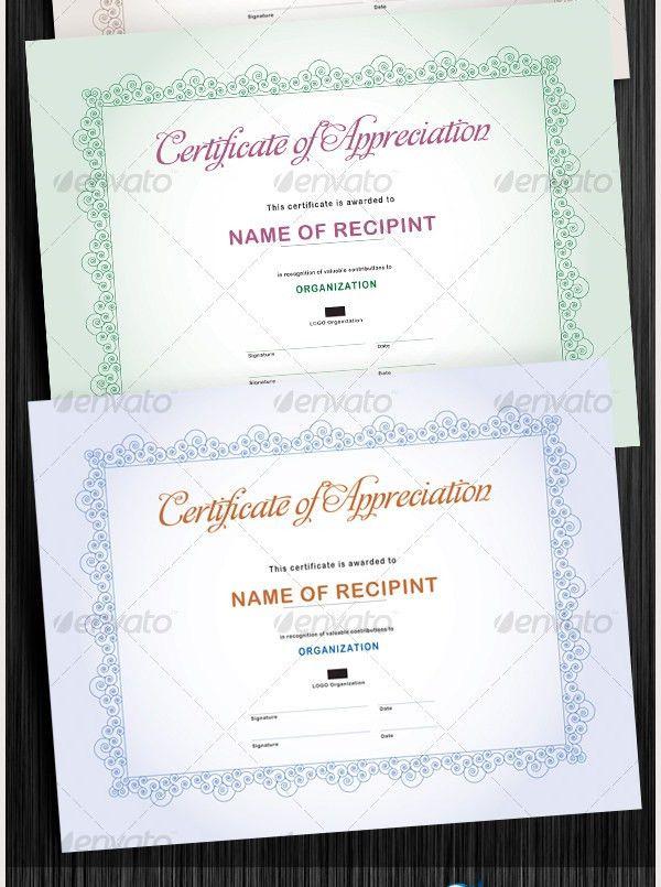 Custom Certificate Template | Template Design