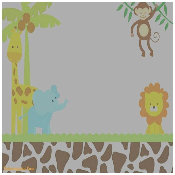 Baby Shower Invitation: New Safari Baby Shower Invitations ...