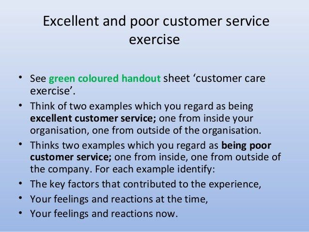 Delivering and Improving Effective Customer Service Training by Cust…
