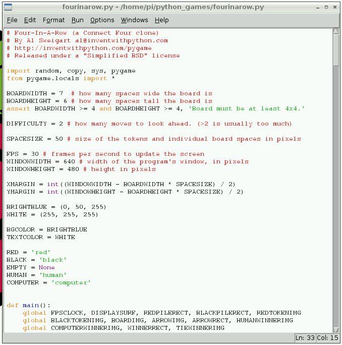 Python Games - Raspberry Pi Documentation