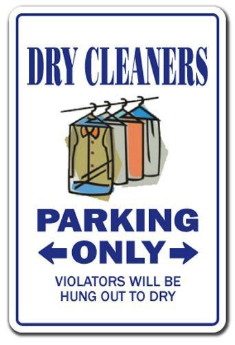 funny laundry signs | ... Sign parking signs cleaning cleaner gift ...