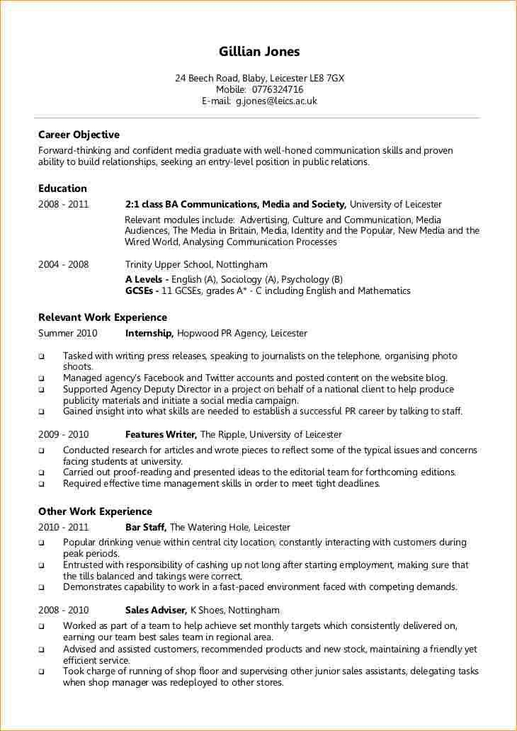 sample resume graduate graduate cv template student jobs graduate