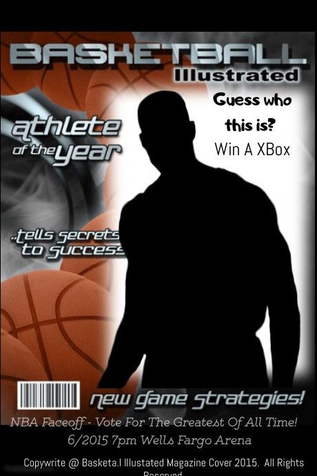 Basketball Illistrated Magazine cover template | PosterMyWall