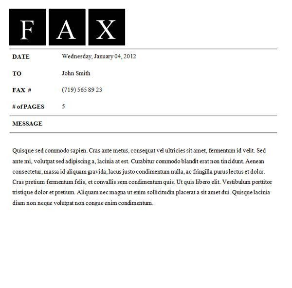 Fax Letter Template Fax Covers Officecom Fax Covers Officecom – Fax Covers
