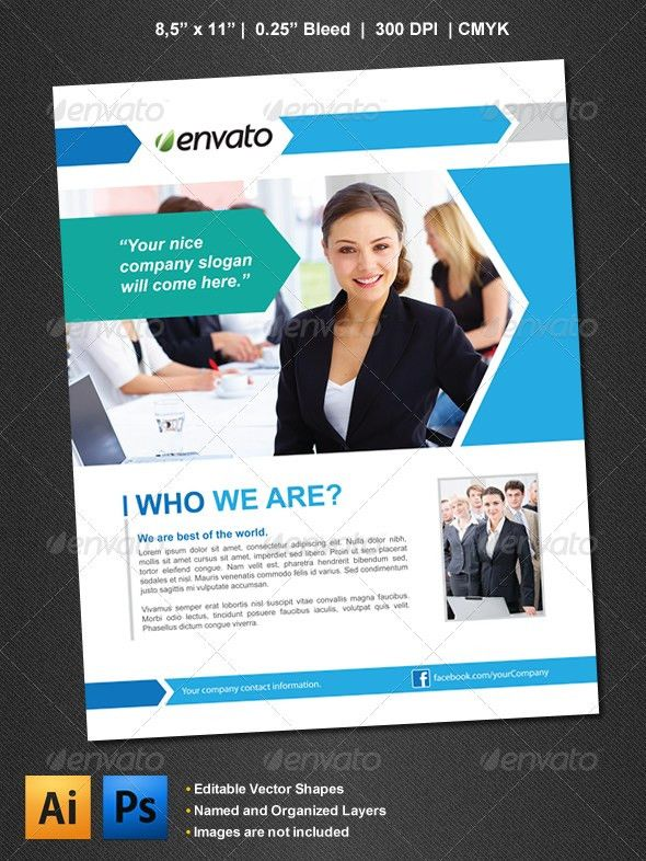 Corporate Flyer | Business flyers, Cleaning companies and Business ...
